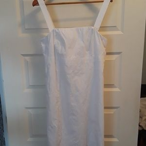 Lilly Pulitzer White Convertible Strapless Dress